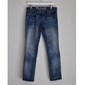 Madewell Rail Straight Jeans! 30X32